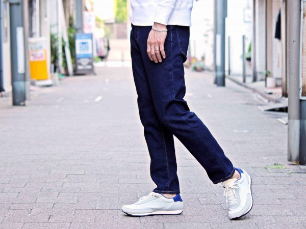 5P Ankle Cut DENIM SLIM PANTS 【ONE WASH】 / SPELLBOUND