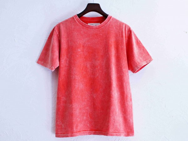 Classic Tee 【CHEMICAL-RED】 / August Roots×LEATHER TRAMP<img class='new_mark_img2' src='//img.shop-pro.jp/img/new/icons1.gif' style='border:none;display:inline;margin:0px;padding:0px;width:auto;' />