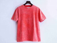 Classic Tee 【CHEMICAL-RED】 / August Roots×LEATHER TRAMP