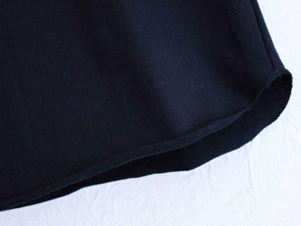 ミニ裏毛七分袖 【BLACK】 / SPINNER BAIT