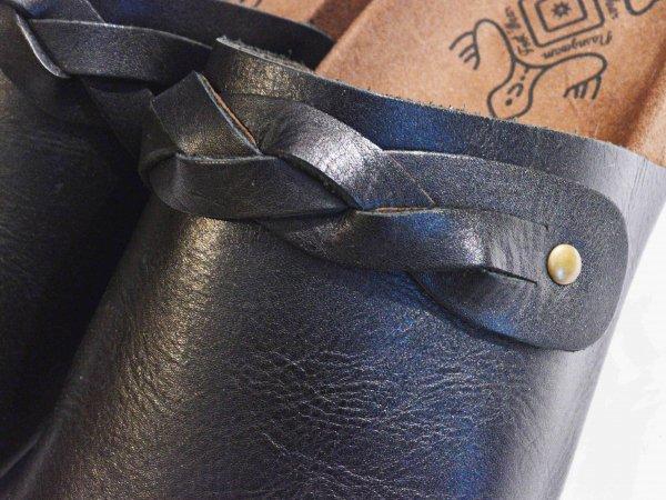 BRAID SANDALS【BLACK】 / Nasngwam. ナスングワム