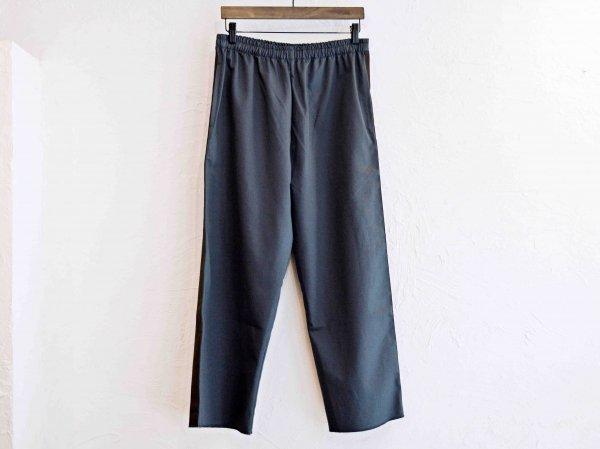 SIDE LINE EASY PANTS 【CHACOAL】 / modemdesign モデムデザイン