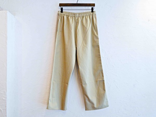 SIDE LINE EASY PANTS 【BEIGE】 / modemdesign
