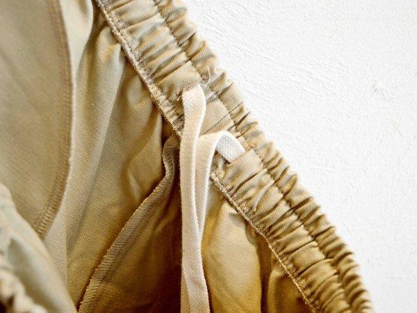SIDE LINE EASY PANTS 【BEIGE】 / modemdesign モデムデザイン