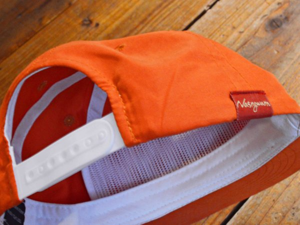 BRIGHT CAP 【ORANGE】 / NASNGWAM