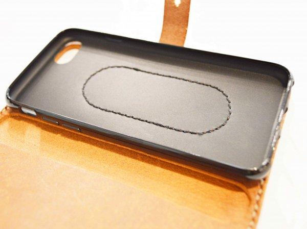 iPhone CASE 6、7、8対応 (PUEBLO) 【CAMEL】 / liberta