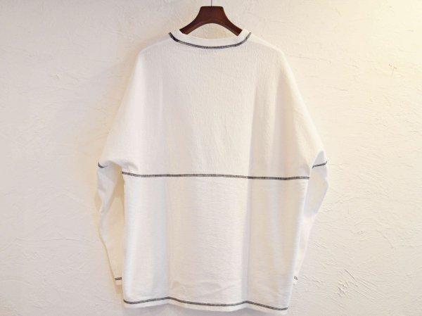 STTICH BEKA L/S TEE 【WHITE】 /  ionoi