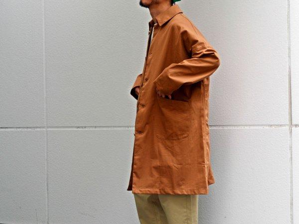 DUSTER COAT 【BROWN】 / YARMO ヤーモ
