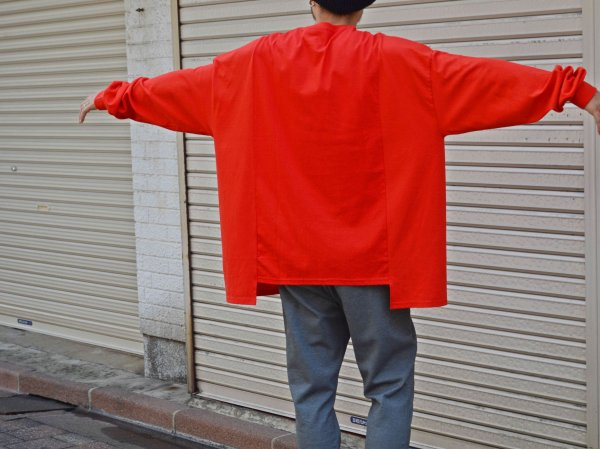 LEPAKOT L/S TEE 【RED】 / ionoi