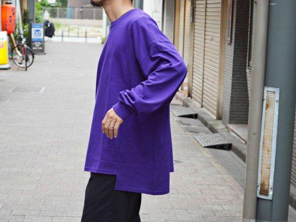 LEPAKOT L/S TEE 【PURPLE】 / ionoi