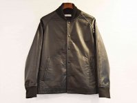 leather award jacket 【BLACK】 / LEATHER TRAMP