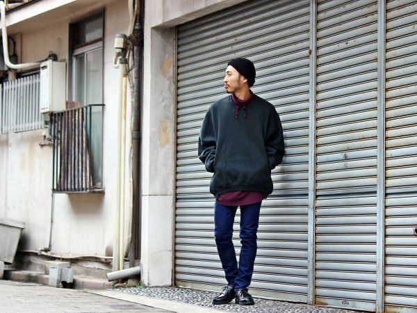 TORTOISE NECK L/S 【PURPLE】 / ionoi