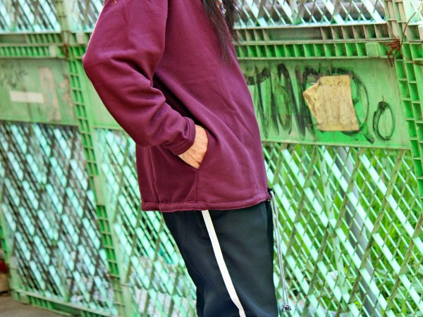 ionoi / LAZY SWEAT 【PURPLE】 / ionoi