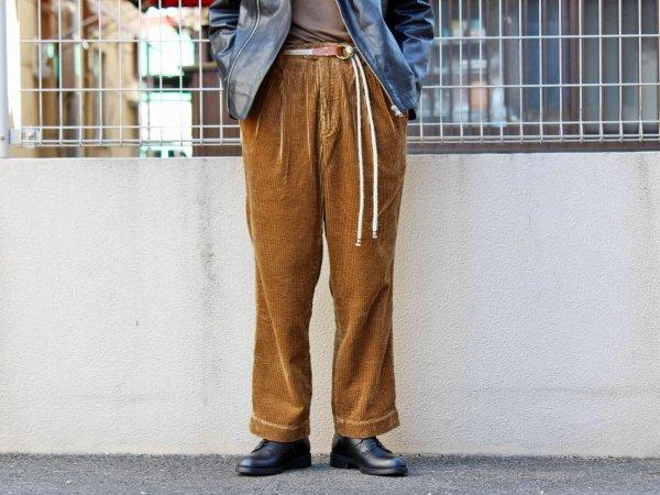 LABORER PANTS 【CAMEL】 / Nasngwam. ナスングワム