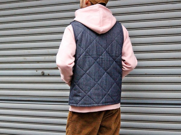 CANNON VEST 【DENIM】 / Nasngwam. ナスングワム