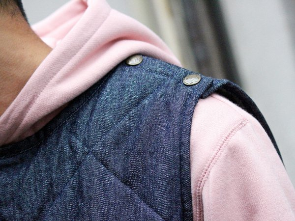 CANNON VEST 【DENIM】 / NASNGWAM