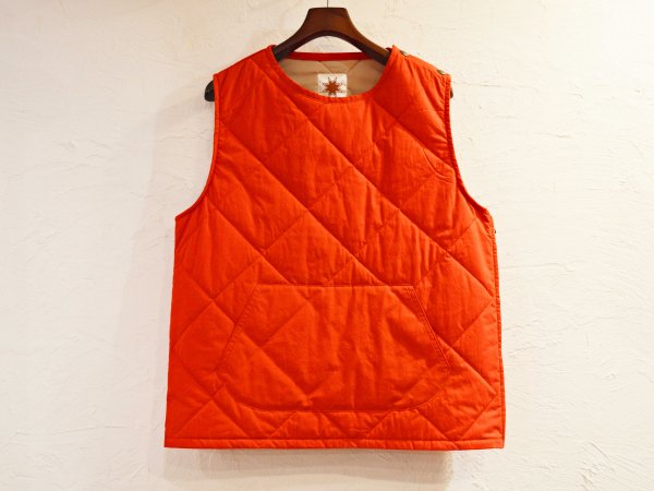 CANNON VEST 【RED】 / Nasngwam. ナスングワム