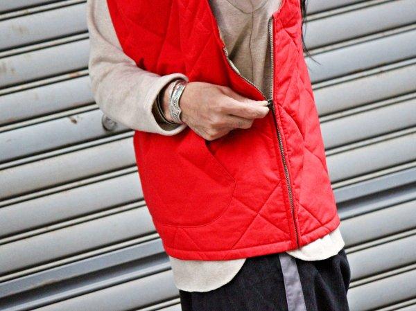 CANNON VEST 【RED】 / Nasngwam. ナスングワム