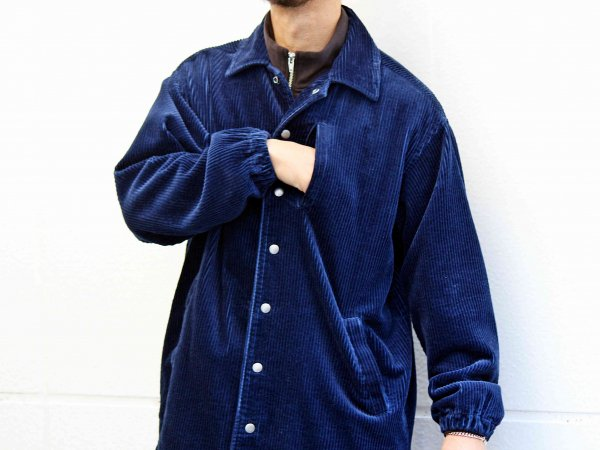 DIRECT LONG JACKET 【NAVY】 / Nasngwam. ナスングワム