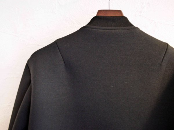 AIR KNIT BLOUSON 【BLACK】 / LAMOND