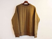 Quilt Sweat 【KHAKI】 / modemdesign