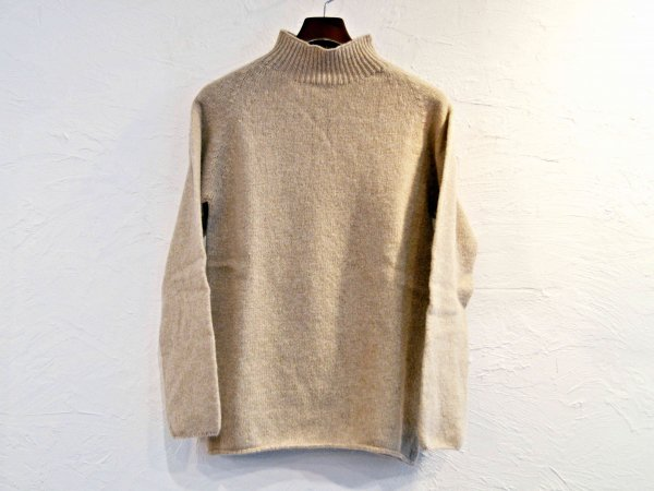 L/S MOCK NECK 【Oatmik】 / NOR'EASTERLY