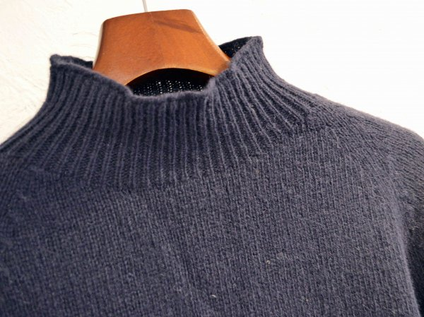 L/S MOCK NECK 【New Navy】 / NOR'EASTERLY