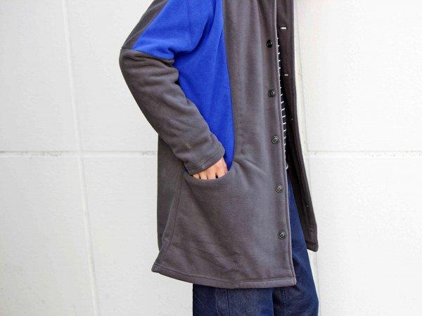 ENIGMA COAT 【CHARCOAL】 / ionoi