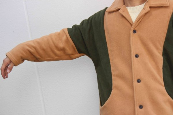 ENIGMA COAT 【BROWN】 / ionoi