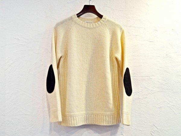 LANDNOAH Sweter 【White】 / soglia