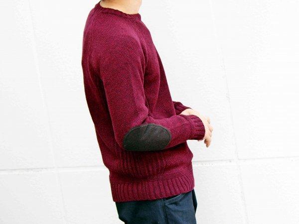 LANDNOAH Sweter 【Wine】 / soglia
