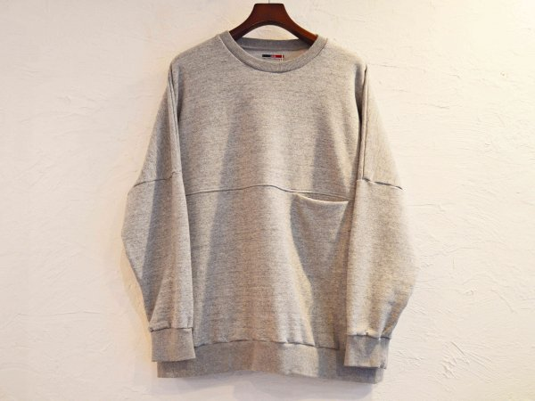 BEKA SWEAT 【GRAY】 / ionoi