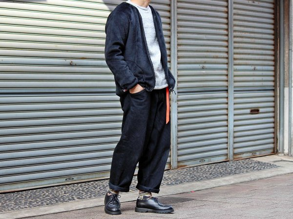 High Loft Cardigan 【BLACK】 / MOUNTAIN EQUIPMENT