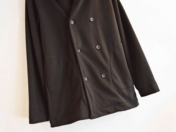 FREECE HODE COAT 【BLACK】  / modemdesign