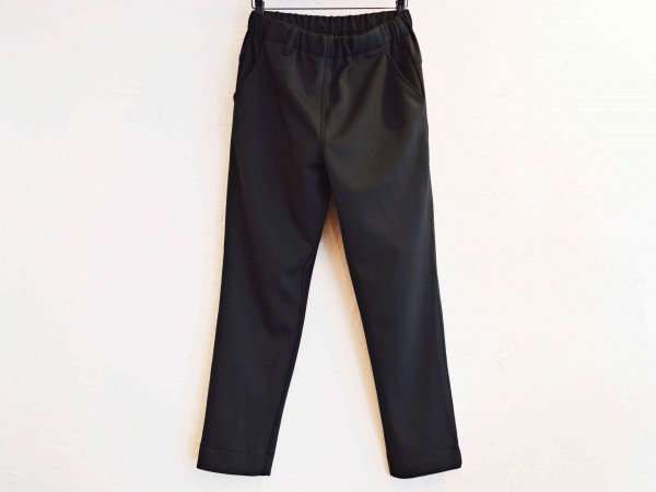 ASSIST PANTS(JERSEY) 【BLACK】 / NASNGWAM