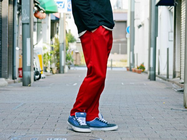 ASSIST PANTS(JERSEY) 【RED】 / Nasngwam. ナスングワム