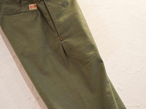 SEAMELESS PANTS 【OLIVE】 / Nasngwam. ナスングワム