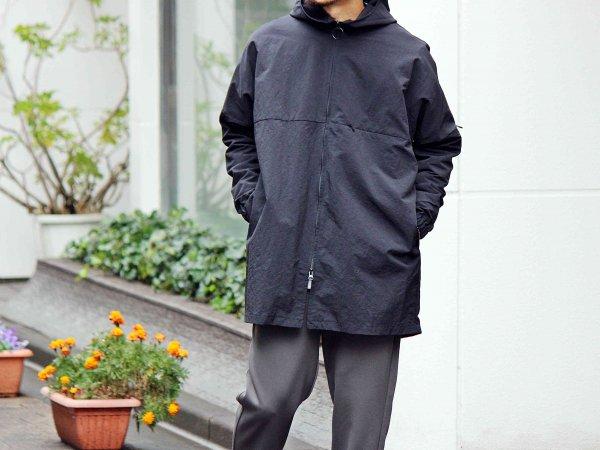 GLDER COAT 【BLACK】 / ionoi