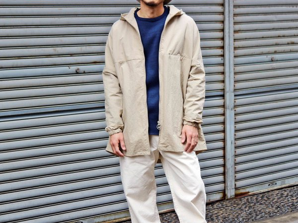GLDER COAT 【BEIGE】 / ionoi