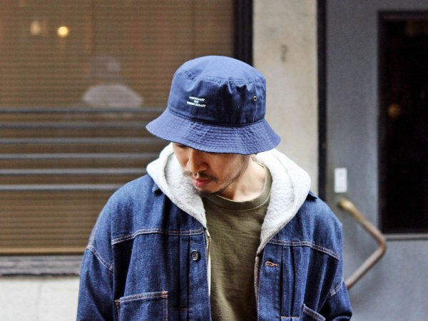 BBQ HAT 【NAVY】 / NECESSARY or UNNECESSARY