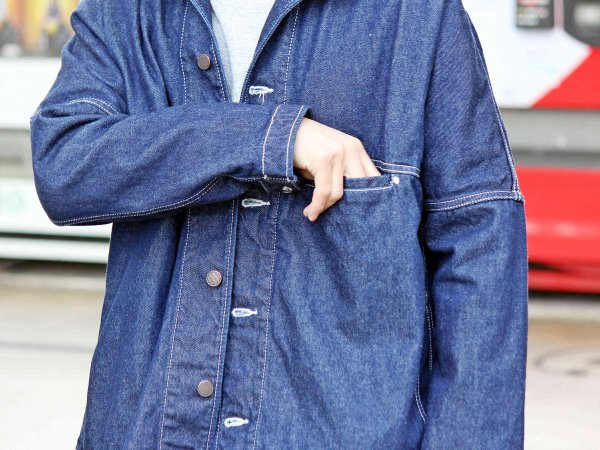 COUNTRY BEKA PARKA(DENIM) 【ONE WASH】 / NASNGWAM×ionoi