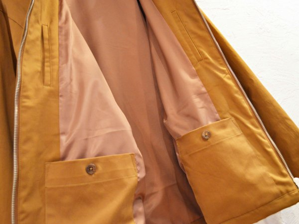 Drizzler jacket 【CAMEL】 / LAMOND<img class='new_mark_img2' src='//img.shop-pro.jp/img/new/icons1.gif' style='border:none;display:inline;margin:0px;padding:0px;width:auto;' />