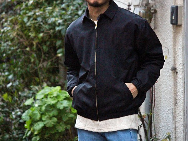 BYLON JACKET(NYLON) 【BLACK】 / NASNGWAM