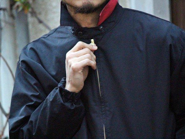 BYLON JACKET(NYLON) 【BLACK】 / Nasngwam. ナスングワム