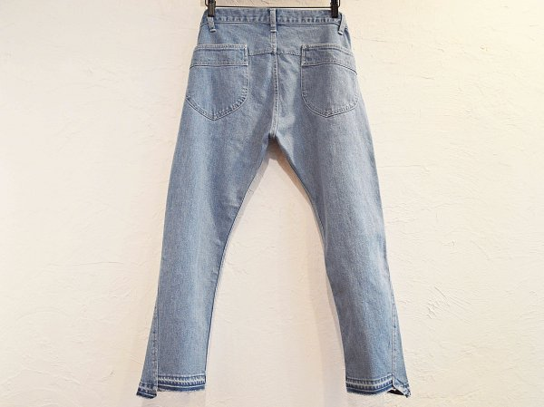 STEP DENIM 【USED WASH】 / NASNGWAM