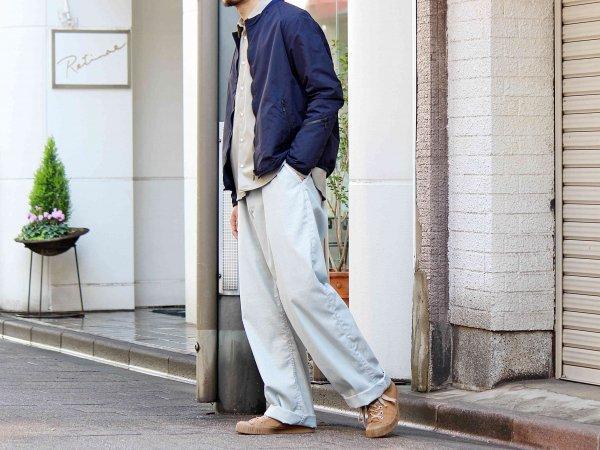 GROUND TOP 【NAVY】 / NECESSARY or UNNECESSARY
