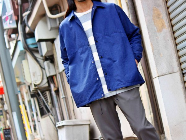 BEKA COACH JACKET 【NAVY】 / ionoi