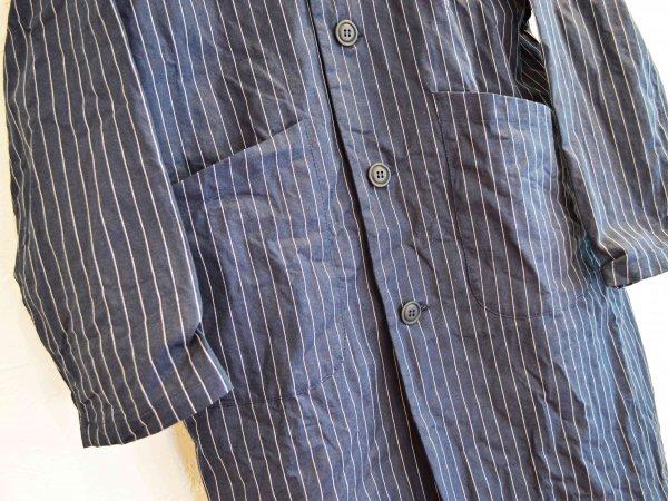 DUSTER COAT 【German Stripe】 / YARMO ヤーモ