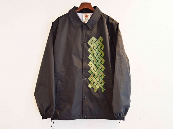 JIMMY COACH JACKET 【BLACK】 / Nasngwam. ナスングワム