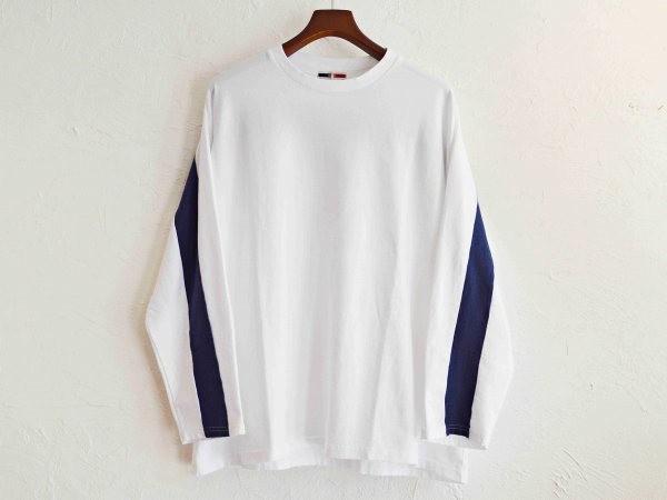 ORBIT L/S TEE 【WHITE】 / ionoi